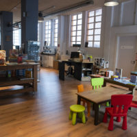 Nuevo espacio de la libreria La Voragine en la calle Cisneros de Santander