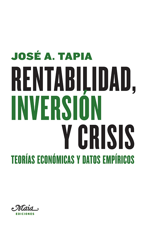 RENTABILIDAD. INVERSIÓN Y CRISIS