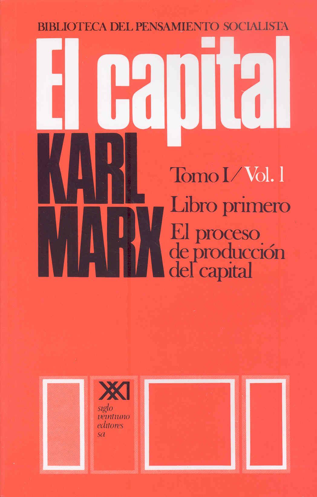 CAPITAL; EL/LIBRO PRIMERO VOL.1 (36ª ED.)