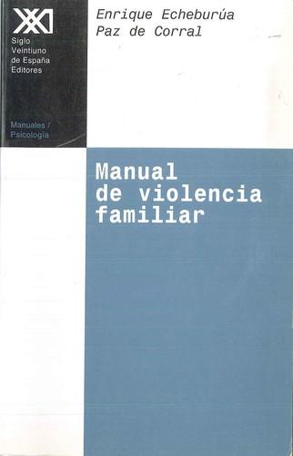 MANUAL DE VIOLENCIA FAMILIAR